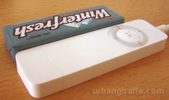 iPod and gum