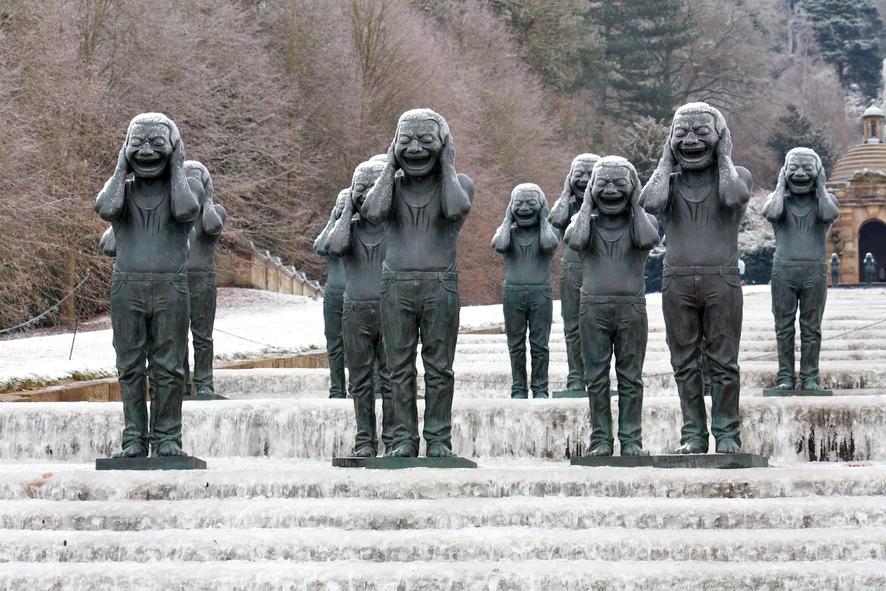 frozen people