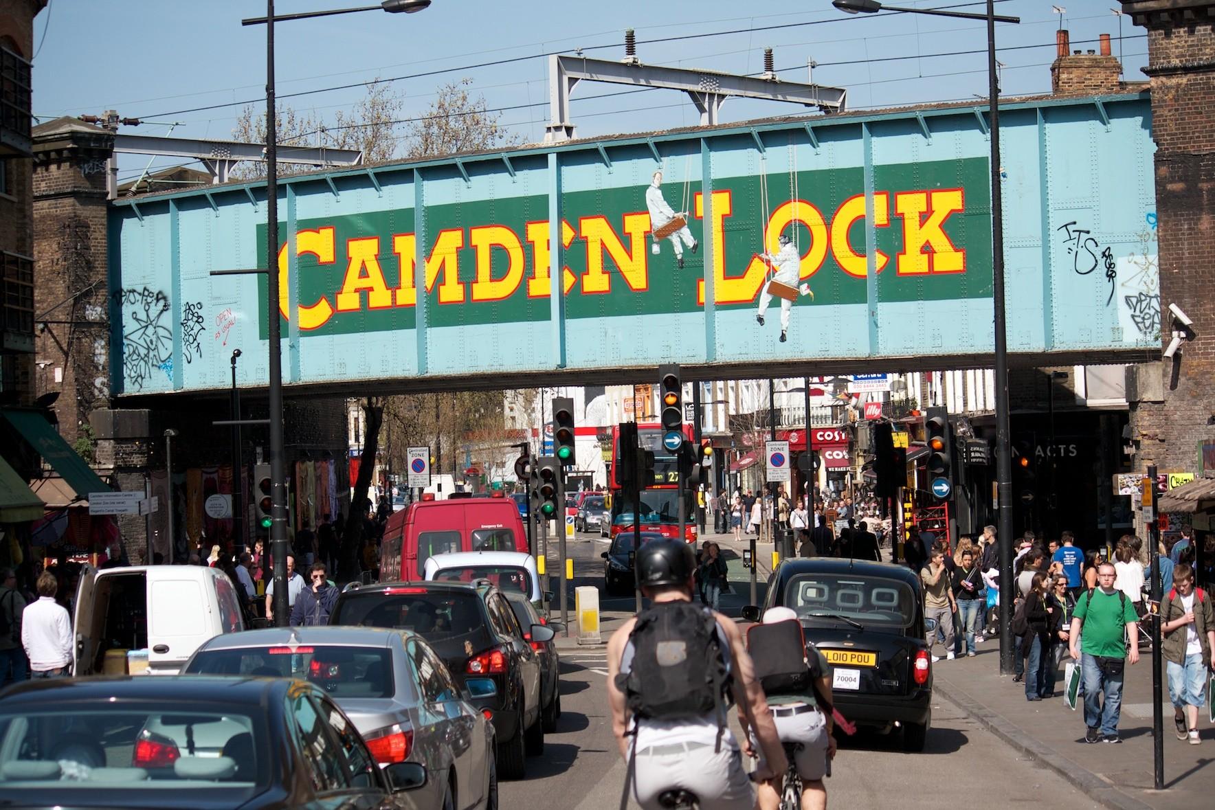 Camden Lock Market Historic Stables Village Buck