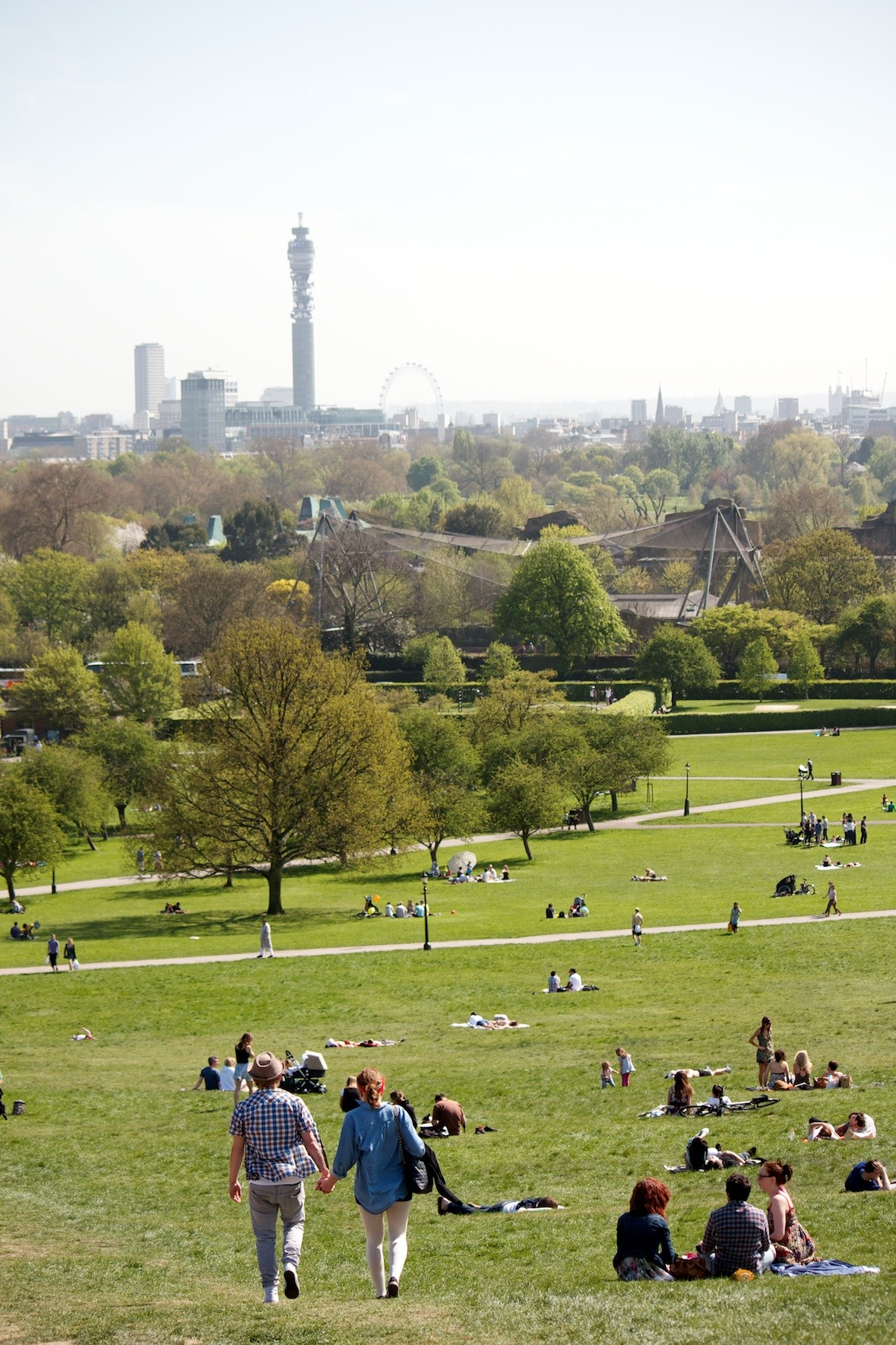 View of Regents Park